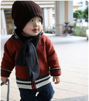 Шапка для мальчиков Baby Infant Toddler Beanie Hat Warm Winter Boys Girls Cap Children 5 Colors New[040730