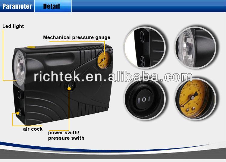 Auto Aliexpress Portable Car Tire Air Compressor on Alibaba China