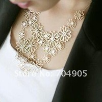 Колье-ошейник Happiness crisp brilliant Flowers Necklace NJ-0021