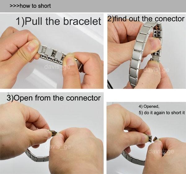 Как уменьшить браслет подарок морской тематики своими руками