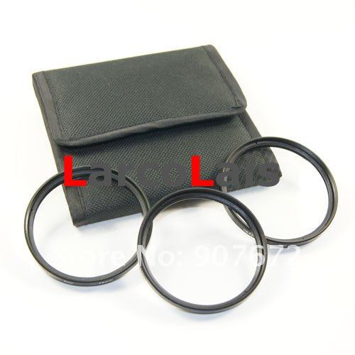 55mm 4X 6X 8X 4PT 6PT 8PT 4 6 8 Point Line Star Filter With 3 Pockets Case for 55 mm Lens for Fuji Camera