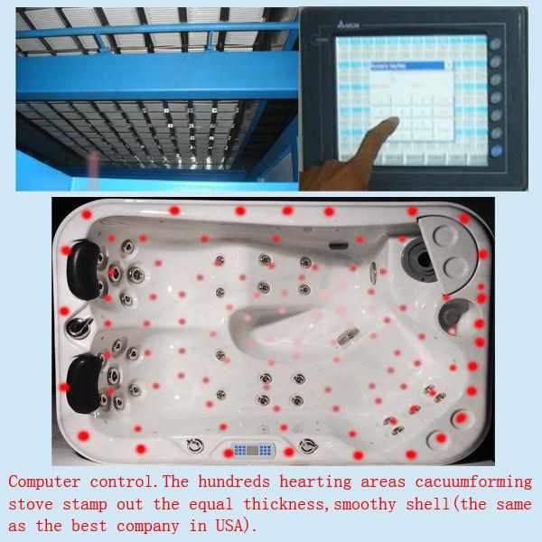 Latest design hot tub&spa hot sale in Canton fair
