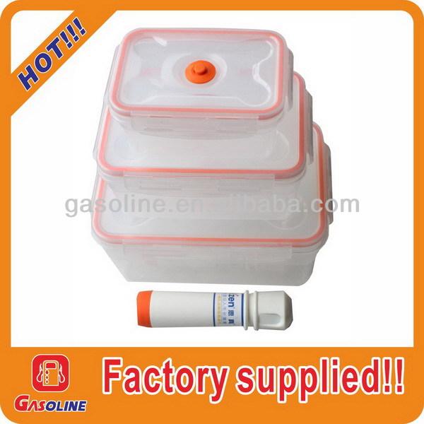 !square plastic container#010