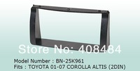 Fascia for TOYOTA 01~07 COROLLA ALTIS for retail/set