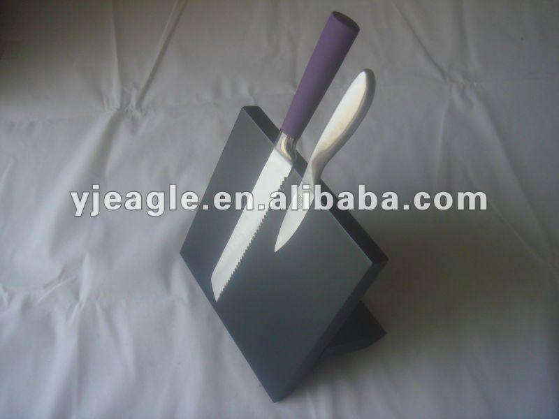 Foldable Magnetic block/ universal knife block