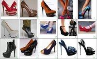 Туфли на высоком каблуке G&L Flower Satin women pumps High Heels Thin Heel Dual Platform High Quality Ankle Buckle lady Sandals