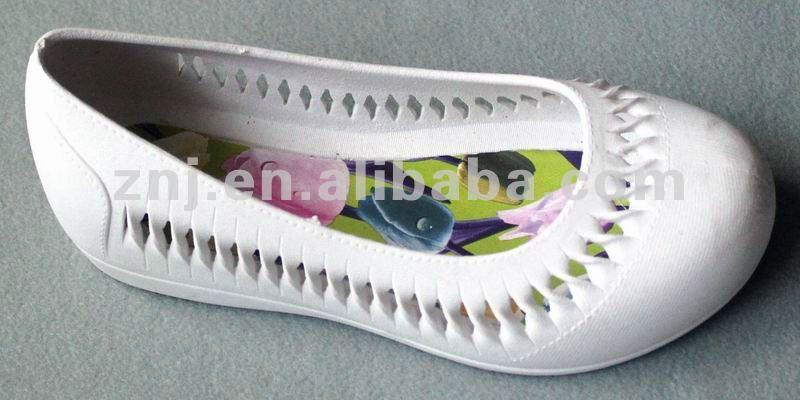 PVC air blowing lady famous women designer shoes