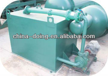 oil &carbon black extracting machine by using waste tyre and plastic