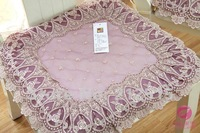 ZYXR,purple sofa cushion / chair cushion  with lace, size 42*45*40cm,free shiping!