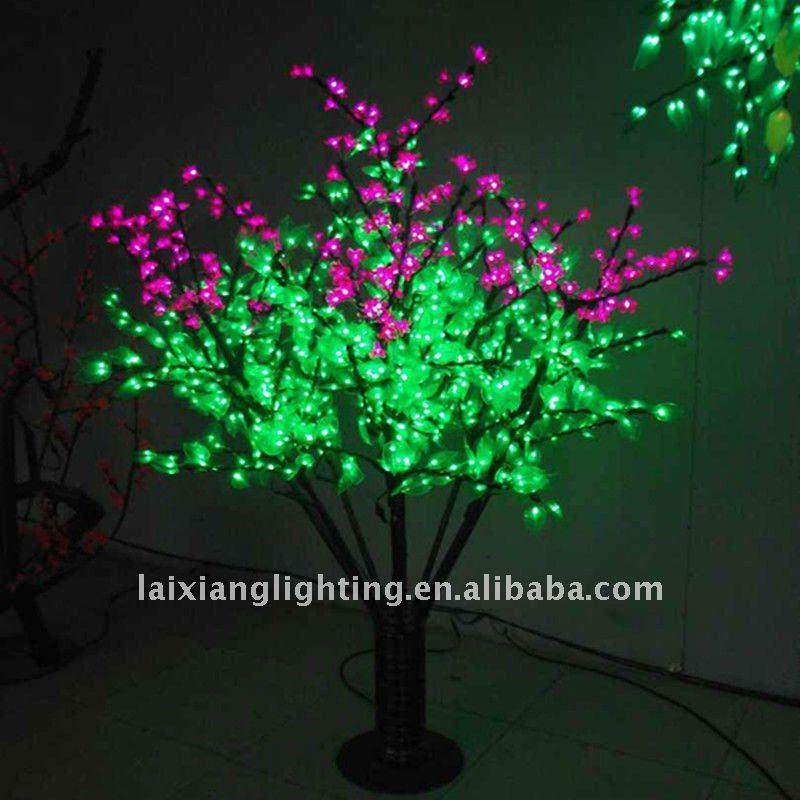 decoracao de jardins para natal:2012 decoração da árvore De Natal azul-Iluminação para jardins-ID