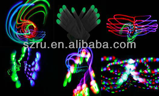 Promotional Fashion Led Light Up Gloves