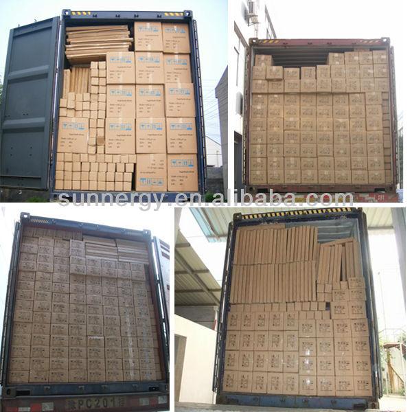 2013 Hot sale aluminium heat pipe solar collector