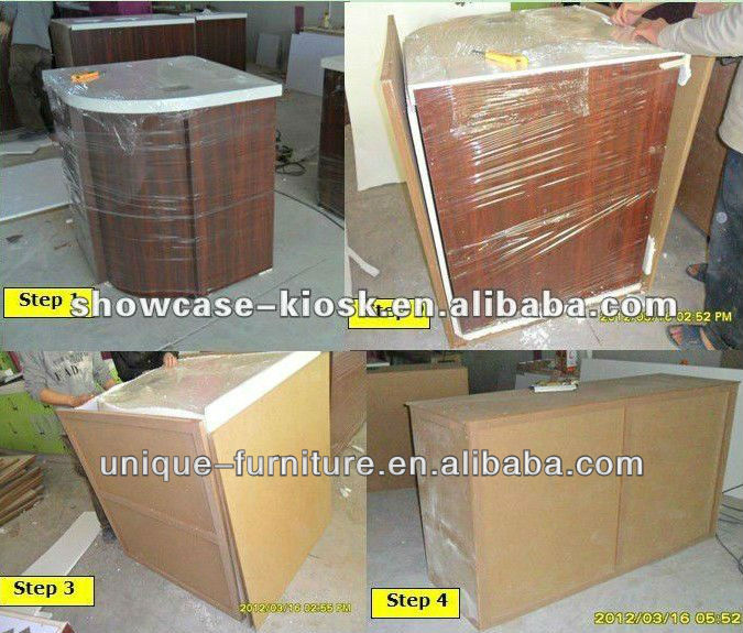 2013 High quality fashion jewelry display kiosk modern jewelry display