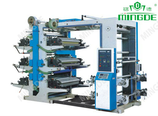 Six Color Flexo Printing Machine