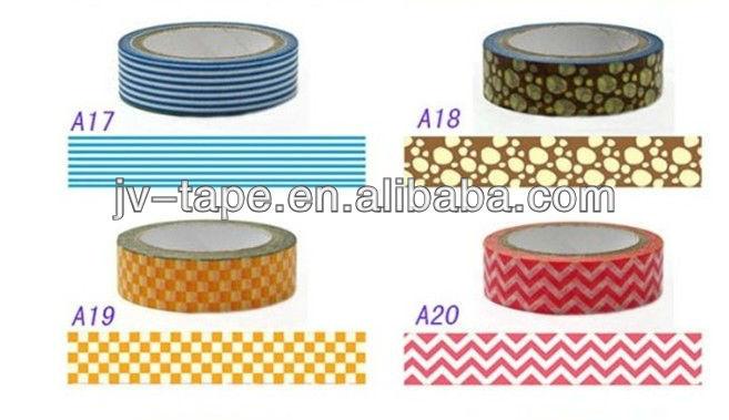 2014 new washy tape masking DIY Decoration tape