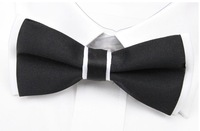 NEW Arrival Mens Imitation Silk Tuxedo Adjustable Neck Bowtie Bow Tie Free Shipping Q411
