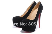 Туфли на высоком каблуке Newest Brand 16cm Heels Women's Dress Shoes, Fashion Platform Pumps, Sexy High Heeled shoes, kinds of styles