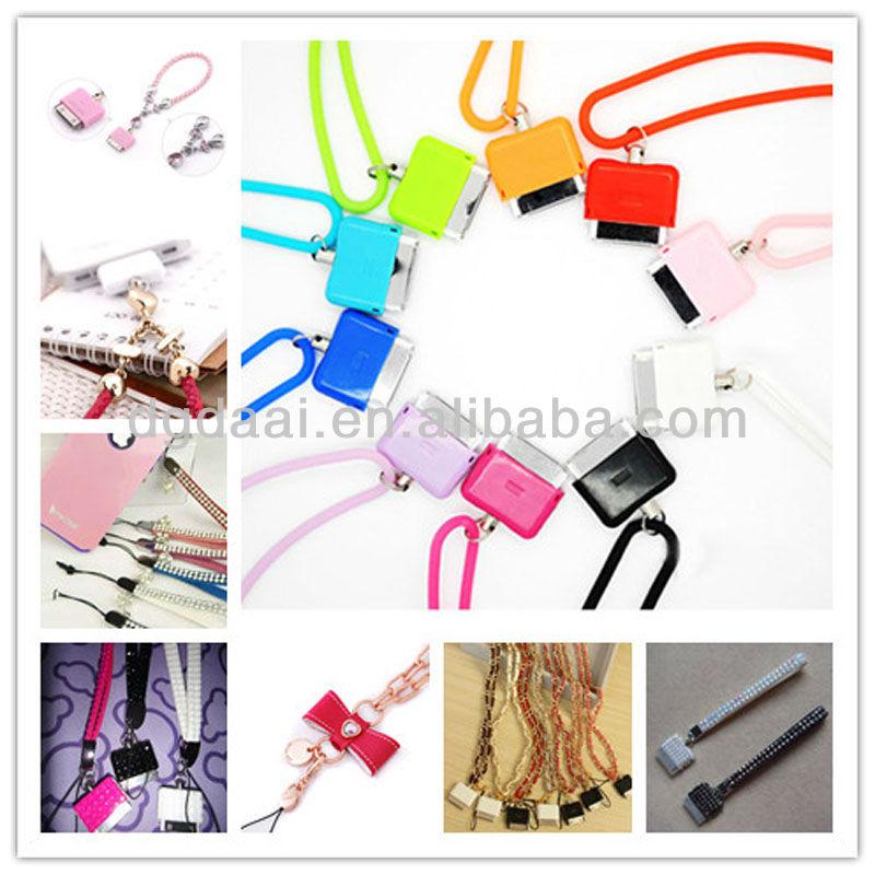 Lovers phone strap heart shape cellphone strap