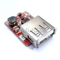 DC-dc boost мощность преобразователя модуль 3В до 5v usb выход мобильного питания устройство для iphone # 090399
