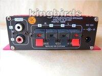 Автомобильный стерео усилитель 2 Channel Mini HiFi Audio Stereo Conputer Car Motorcycle boat home audio Amplifier Loud speaker