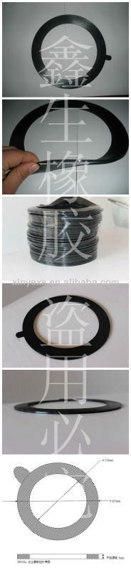 flexible rubber joint flange rubber ring gasket