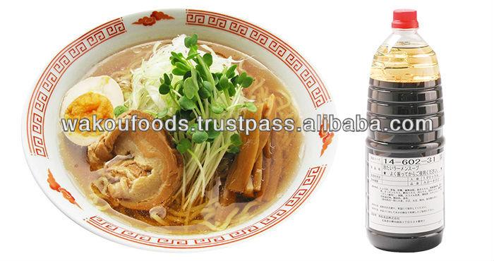 Tsumetai ramen soup (AD-602) ramen soy sauce for Japanese yamagata noodle 1.8L
