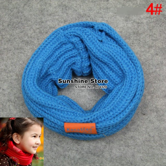 Детский шарф-хомут