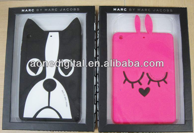 Cute Soft Silicone Protective for ipad mini case