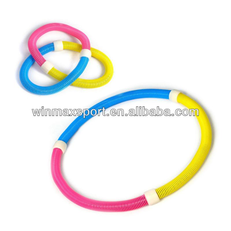 Fitness flexible spring hula hoop