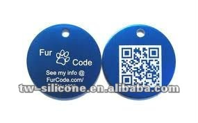 Hot! Scan qr code pet tag pantone color codes unique pet id tags