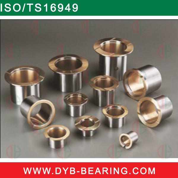 Small bronze or brass bushing flanged bushings bearings