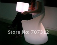 Пластиковый стул Hot LED furniture, led children chair stool 20*20*20CM