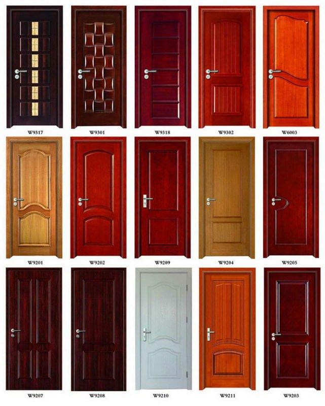 Puertas de ba o madera for Puertas metalicas para habitaciones