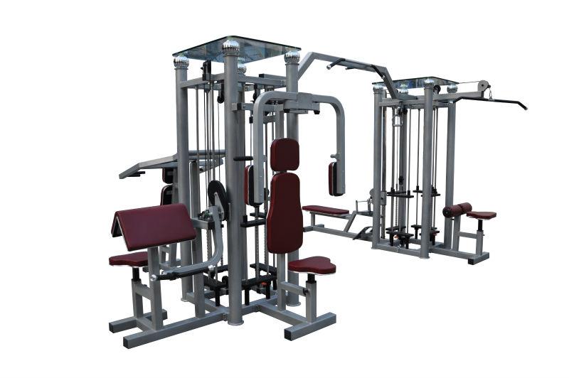 Lk-2020 8 станция животе машина / фитнес оборудование на продажу