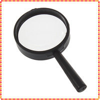 Лупа 10pcs Reading 5X Magnifier Hand Held Magnifying 25mm Glass handheld