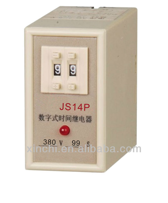 Time Delay Relay 220v Digital Time Delay Relay Js14p