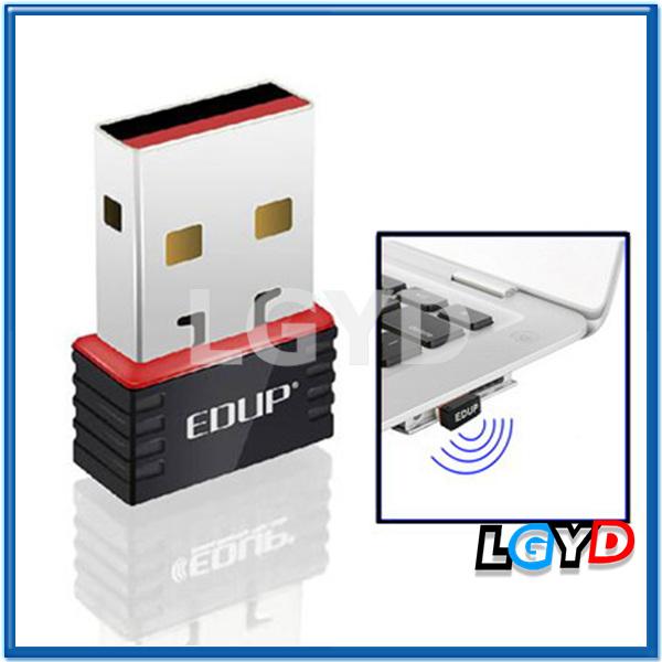 EDUP EP-N8508 Mini Wireless 802.11N 150Mbps WIFI USB Network Card Adapter