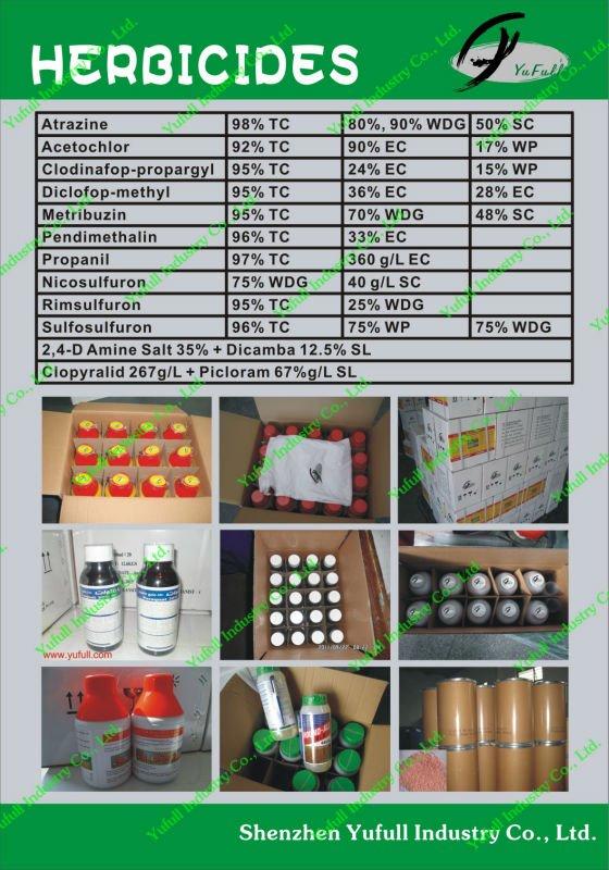 Roundup & glyphosate 360g/l & 41% IPA SL & 480sl glifosate