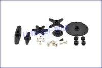 Запчасти и Аксессуары для радиоуправляемых игрушек Power HD High-Torque 60G Standard Servo 1501MG ALL Metal Gear 17KG 0.14 sec 1501