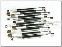 Кисти для макияжа Professional Dual Shadow brush round+angle Makeup tools