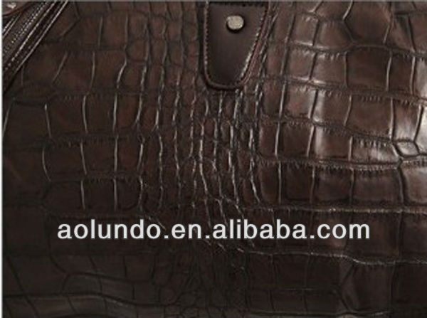 New design crocodile cheap luggage bags travel bags for men