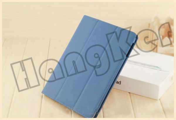 fold leather case for new ipad;fold leather case for ipad 3;folded leather case for ipad mini