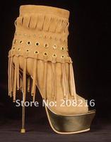 фирменная обувь женщин высокий каблук насосы моды сапоги сексуальные высокой пятки сандалии сексуальный каблуках кисточкой сандалии