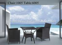 Стул с металлическим каркасом Outdoor KD Chair for garden dinning set KD1005