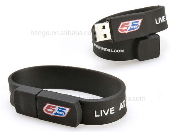 Promotional WristBand USB Memory Drive