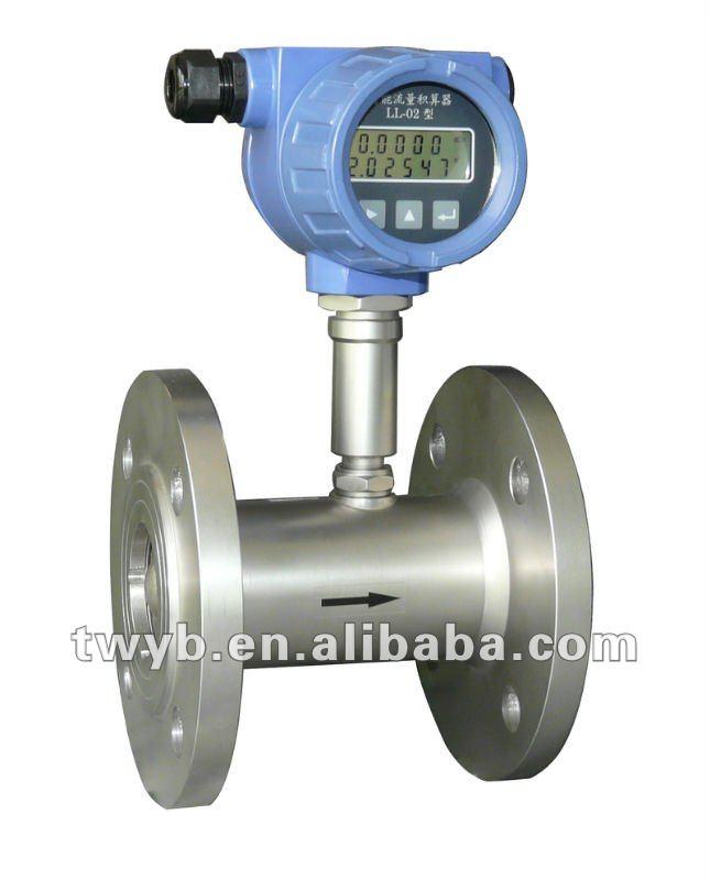 Alcohol flow meter/turbine flow meter