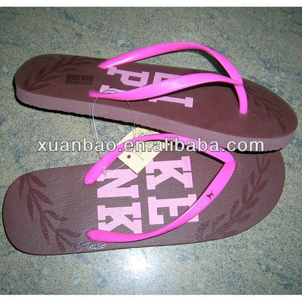 2013# New summer women PE/EVA slippers