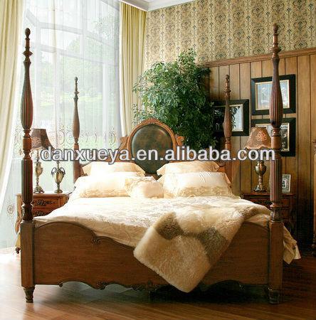 Mode moderne classique en bois ensemble de mobilier de for Ensemble de chambre a coucher en bois