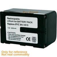 Аккумулятор BN-V615 BNV615 2600mAh battery for JVC GR-DV3 GR-DV33 GR-DV3U GR-DV5 GR-DV5U GR-DV808 GR-DVL7 GR-DVL700 GR-DVL9200 GR-DVL93