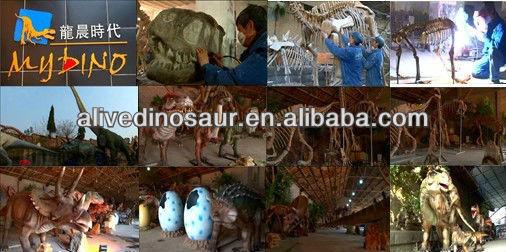 Dinosaur egg fiberglass fossils for indoor playground